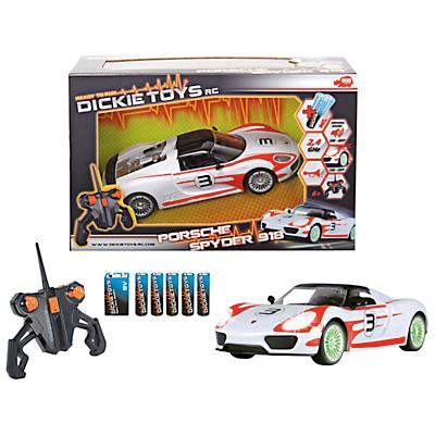 Dickie Toys Remote Control Porsche Spyder 918 Car