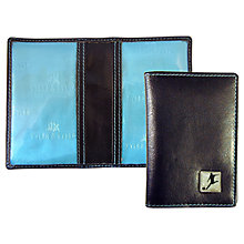 Buy TYLER & TYLER Football Leather Travel Card Holder, Black Online at johnlewis.com