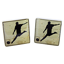 Buy TYLER & TYLER Football Cufflink Set Online at johnlewis.com