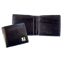 Buy TYLER & TYLER Football Billfold Wallet, Black Online at johnlewis.com