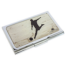 Buy TYLER & TYLER Football Business Card Holder Online at johnlewis.com