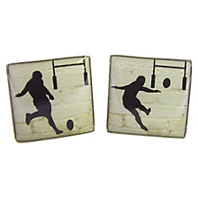 Buy TYLER & TYLER Rugby Conversion Cufflink Set Online at johnlewis.com
