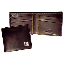 Buy TYLER & TYLER Rugby Billfold Wallet, Brown Online at johnlewis.com