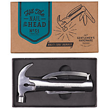 Buy Gentlemen's Hardware Multi Purpose Hammer Tool Online at johnlewis.com