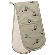 Buy Sophie Allport Pheasant Double Oven Mitt Online at johnlewis.com