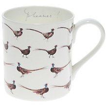 Buy Sophie Allport 'Pheasies!' Pheasant Mug Online at johnlewis.com