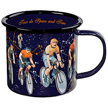 Buy Ted Baker Voyager's Enamel Mug Online at johnlewis.com