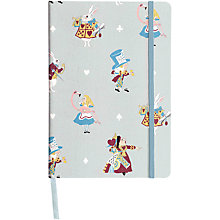 Buy Sophie Allport 150th Anniversary Alice in Wonderland Notebook Online at johnlewis.com