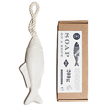 Buy Plum & Ashby Fish Soap On A Rope Online at johnlewis.com