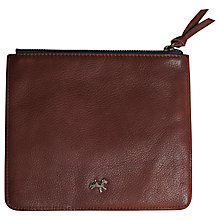 Buy Plum & Ashby Leather Zip Pouch Online at johnlewis.com
