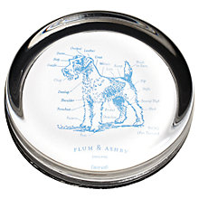 Buy Plum & Ashby Terrier Paperweight Online at johnlewis.com