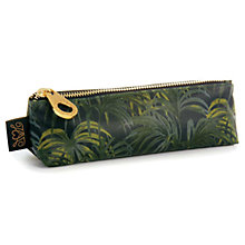 Buy House of Hackney Palmeral Print Pencil Case, Midnight Online at johnlewis.com