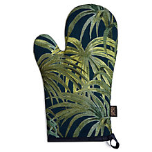 Buy House of Hackney Palmeral Print Oven Glove, Midnight Online at johnlewis.com
