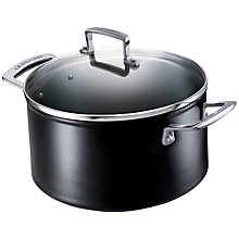 Buy Le Creuset Toughened Non-Stick Deep Casserole, 20cm Online at johnlewis.com