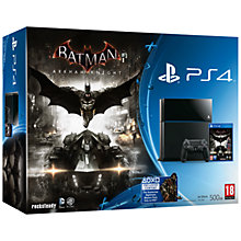 Buy Sony PS4 Console with Batman: Arkham Knight Online at johnlewis.com