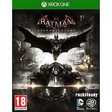Buy Batman: Arkham Knight, Xbox One Online at johnlewis.com