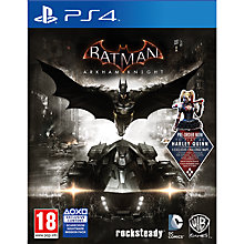 Buy Batman: Arkham Knight, PS4 Online at johnlewis.com