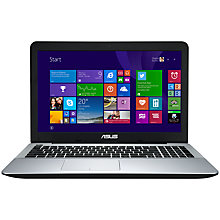 "Buy Asus X555LD Laptop, Intel Core i7, 12GB RAM, 1.5TB, 15.6"", Black Online at johnlewis.com"