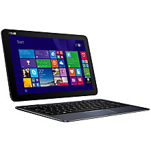 "Buy Asus Transformer Book T300 Chi Convertible Tablet & Laptop, Intel Core M, 4GB RAM, 128GB SSD, 12.5"" Touch Screen Online at johnlewis.com"