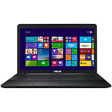 "Buy Asus X751LA Laptop, Intel Core i7, 8GB RAM, 1TB, 17.3"", Black Online at johnlewis.com"