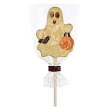 Buy Natalie Chocolates White Chocolate Ghost Lolly, 30g Online at johnlewis.com