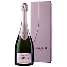 Buy Krug Rosé Champagne, 75cl Online at johnlewis.com