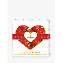 Buy Niederegger Dark Chocolate Covered Marzipan Hearts Online at johnlewis.com