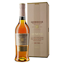 Buy Glenmorangie Nectar D'Or 12 Year Old Highland Single Malt Scotch Whisky, 70cl Online at johnlewis.com