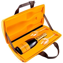Buy Veuve Clicquot Yellow Label NV Champagne Traveller Gift Set, 75cl Online at johnlewis.com