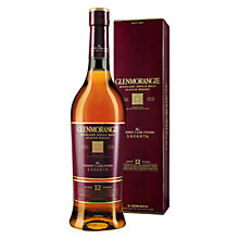 Buy Glenmorangie Lasanta 12-Year-Old Highland Single Malt Scotch Whisky, 70cl Online at johnlewis.com
