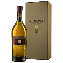 Buy Glenmorangie 18 Years Old Single Malt Scotch Whisky, 70cl Online at johnlewis.com
