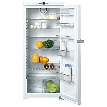 Buy Miele K12421SD -1 Tall Freestanding Larder Fridge, A+ Energy Rating, 60cm Wide, White Online at johnlewis.com