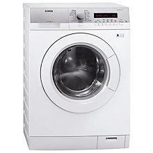 Buy AEG L76475FL Slim Depth Freestanding Washing Machine, 7kg Load, A+++ Energy Rating, White Online at johnlewis.com