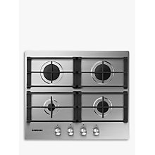 Buy Samsung NA64H3010AS Gas Hob, Stainless Steel Online at johnlewis.com