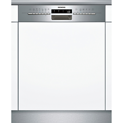 Image of Siemens SN56M531GB Semi-integrated Dishwasher, Stainless Steel