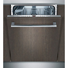 Buy Siemens SN66M050GB Integrated Dishwasher, Stainless Steel Online at johnlewis.com