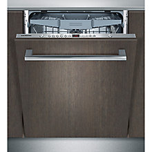 Buy Siemens SN66L080GB Integrated Dishwasher, Stainless Steel Online at johnlewis.com