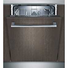Buy Siemens SN64D000GB Integrated Dishwasher, Black Online at johnlewis.com