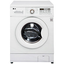 Buy LG F14B8QDA Freestanding Washing Machine, 7kg Load, A+++ Energy Rating, 1400 rpm Spin, White Online at johnlewis.com