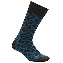 Buy Kin by John Lewis Zig Zag Socks, One Size Online at johnlewis.com