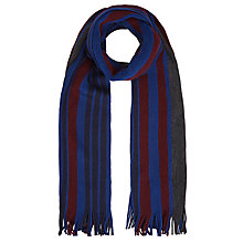 Buy Ted Baker Stripe Merino Wool Scarf Online at johnlewis.com