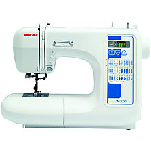 Buy Janome CMX30 Sewing Machine Online at johnlewis.com