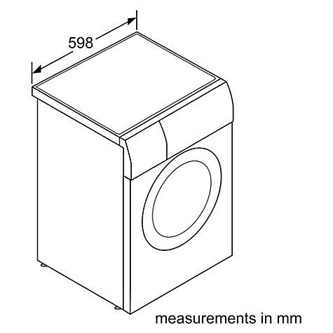 Buy Bosch WVG30461GB Freestanding Washer Dryer, 8kg Wash