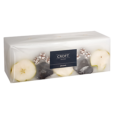 John Lewis Croft Collection Inclusion 3 Wick Cube Candle