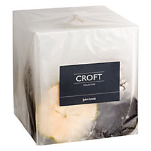 Buy John Lewis Croft Collection Inclusion Cube Candle Online at johnlewis.com