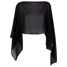 Buy Damsel in a dress Gabriella Shawl, Black Online at johnlewis.com