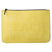Buy Mango Engraved Message Clutch Bag Online at johnlewis.com