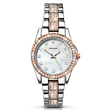 Buy Sekonda 2019.27 Women's Starfall Crystal Bracelet Strap Watch, Silver/Rose Gold Online at johnlewis.com