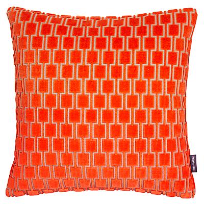 Image of Kirkby Design by Romo Bakerloo Cushion, Neon Orange