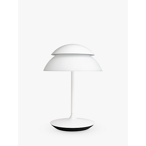 buy philips hue beyond led table lamp john lewis. Black Bedroom Furniture Sets. Home Design Ideas